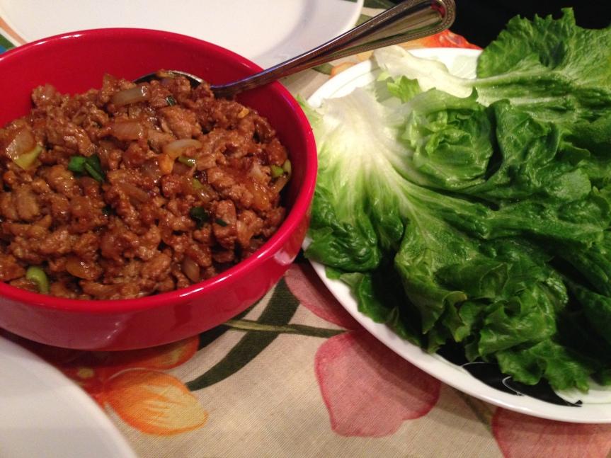 Asian Lettuce Wraps andSalads