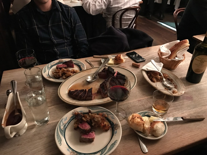 What's the Deal with Peter Luger? Gimmick or Must Go? A Review of a NYC Steak Establishment.
