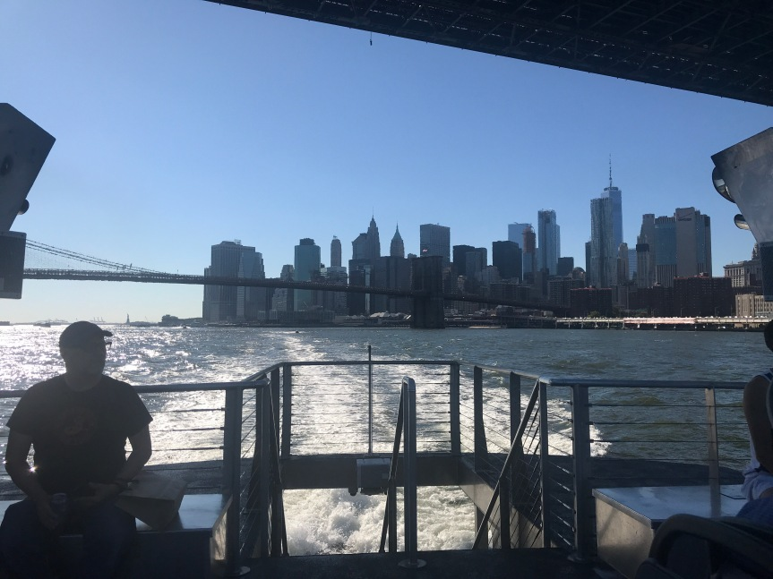 Take the NYC Ferry and Skip the Subway on a Nice Day: Wall Street to Astoria